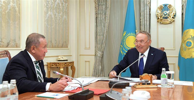 Глава государства принял в Акорде Нурлана Смагулова