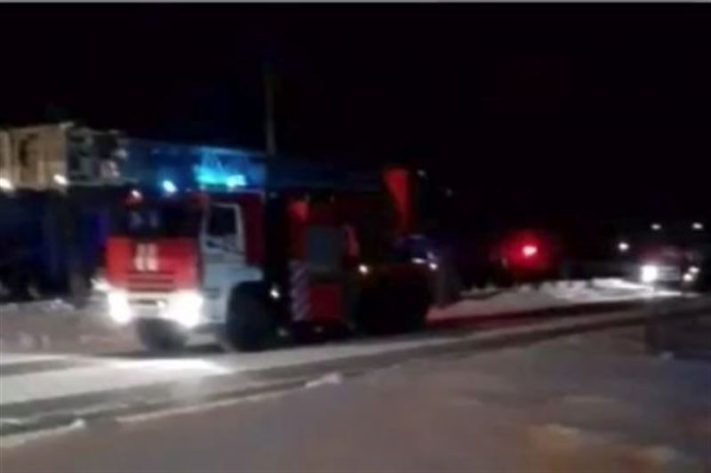 В Семее во время пожара в общежитии погиб мужчина