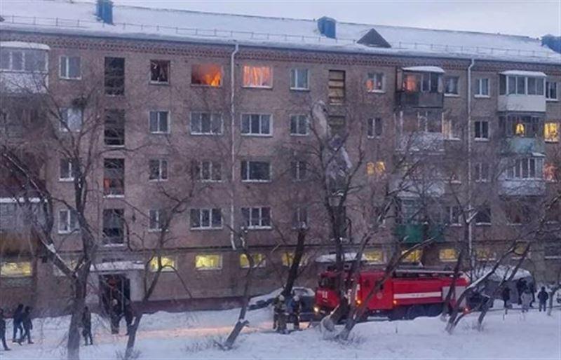 46 человек эвакуированы из-за взрыва газа в жилом доме в Петропавловске