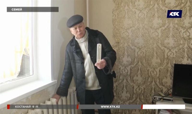 Семейчане замерзают в своих квартирах, оплачивая огромные счета