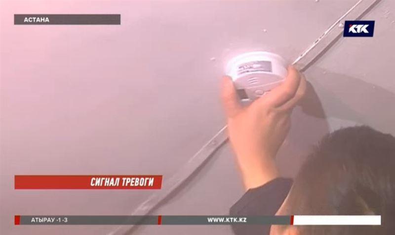 Датчики угарного газа экстренно устанавливают пожарные
