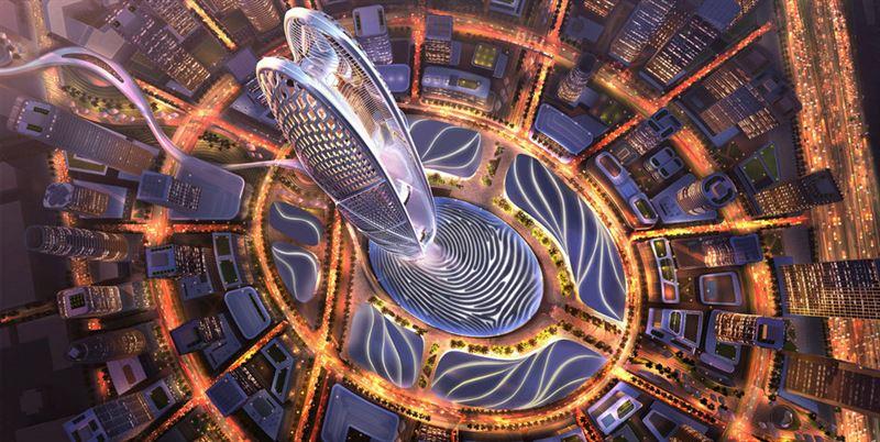 В Дубае построят небоскреб «на основе» отпечатка пальца шейха