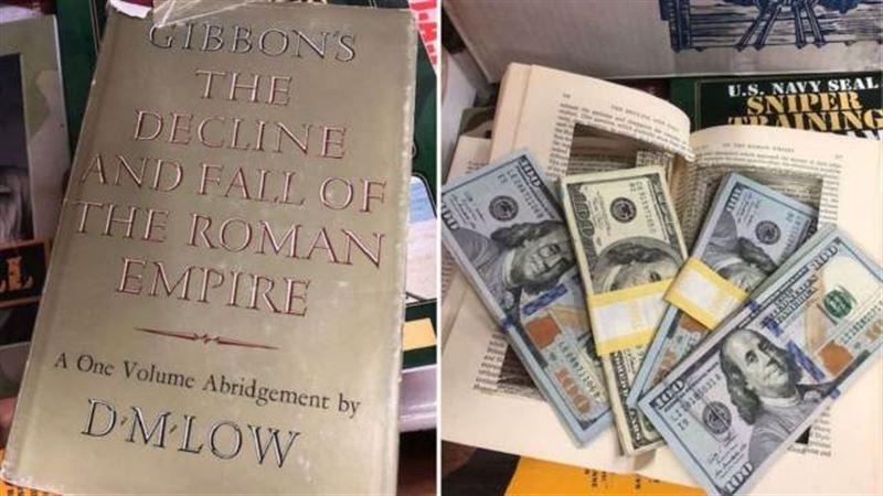 Девушка вернула найденные в книге 4000 долларов владельцу