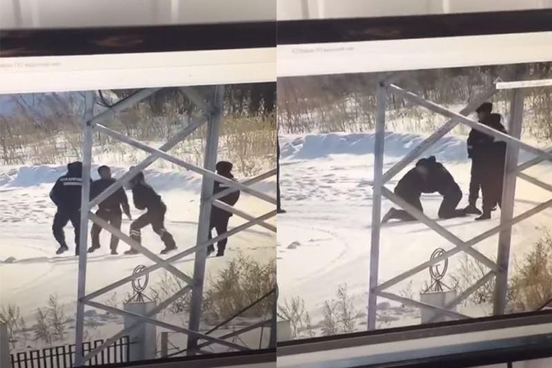 Астанада полицейлер жаппай төбелесті