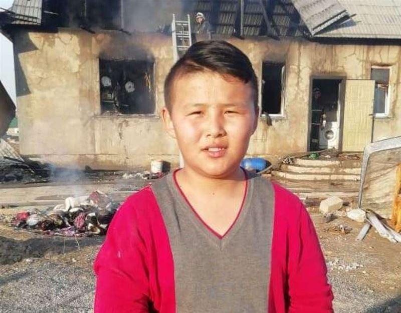 Тринадцатилетний подросток спас двух малышей в Шымкенте