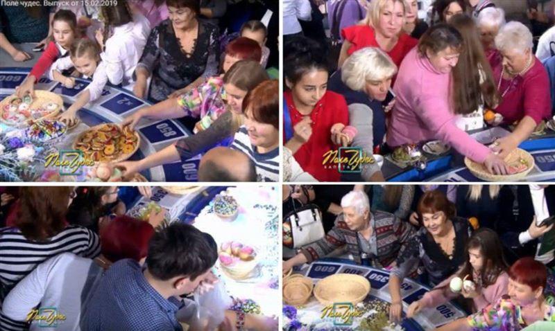 В «Поле чудес» показали, что происходит с едой, которую приносят на передачу