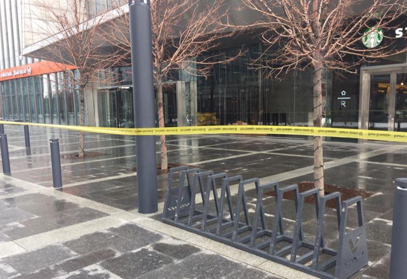 В Алматы эвакуируют людей из крупного бизнес-центра