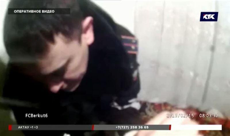 Таразские полицейские спасли семью