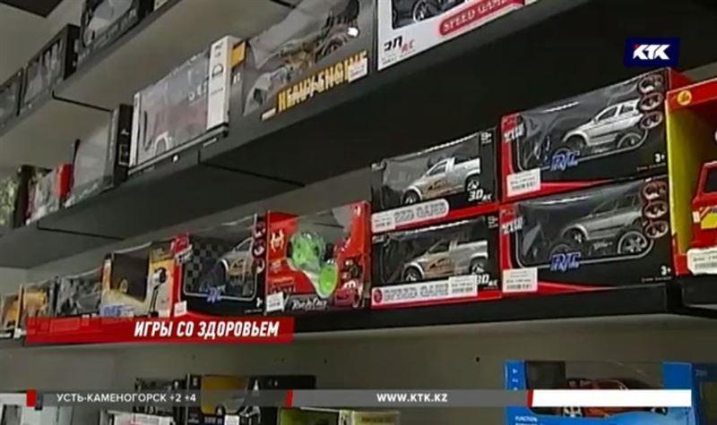 По всей стране продают опасные игрушки