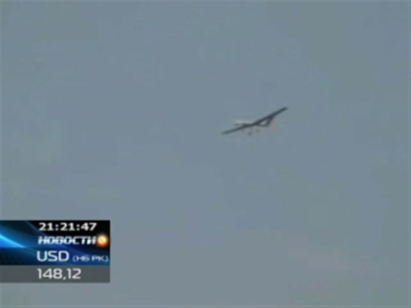 На западе Казахстана пограничники заметили беспилотный летательный аппарат