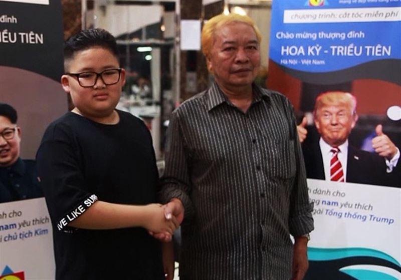 Вьетнамцы копируют прически Трампа и Ким Чен Ына