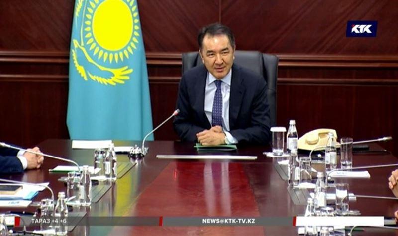 Бакытжан Сагинтаев поблагодарил президента за доверие