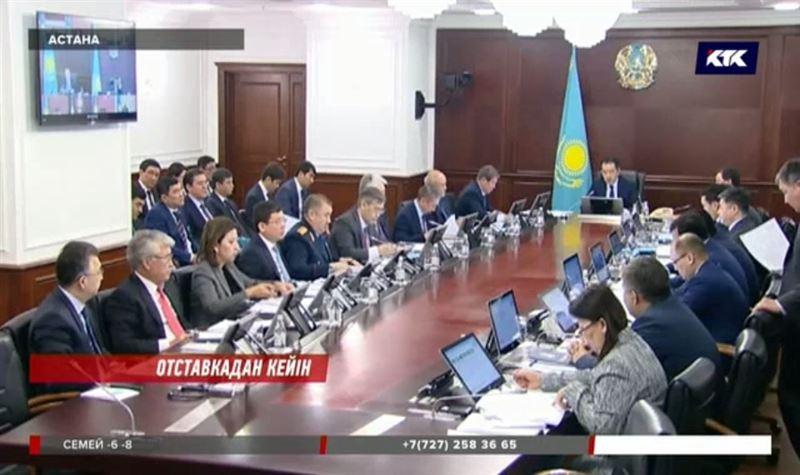 Қызметінен бас тартқан вице-министр Сағынтаев үкіметінің ең басты кемшілігін атады