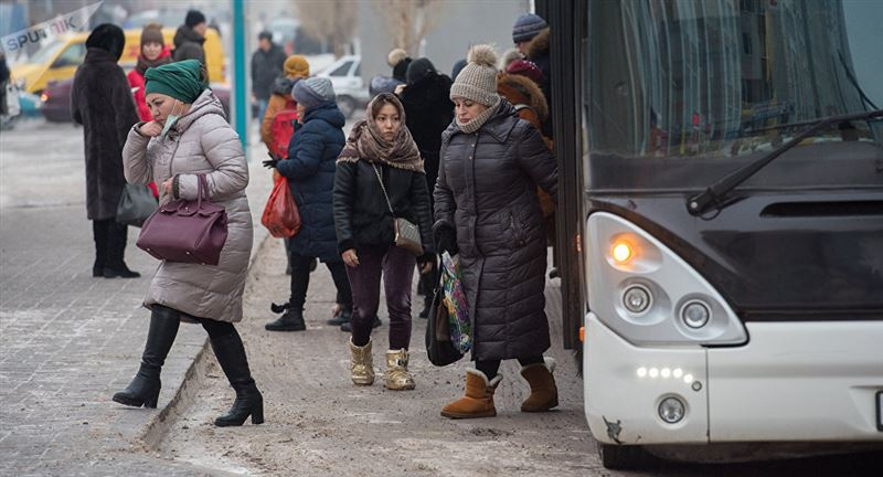 Шымкентте зейнеткер автобуста  көз жұмды