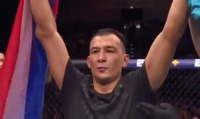 Дамир Ысмағұлов UFC-дегі екінші жекпе-жегінде жеңіске жетті