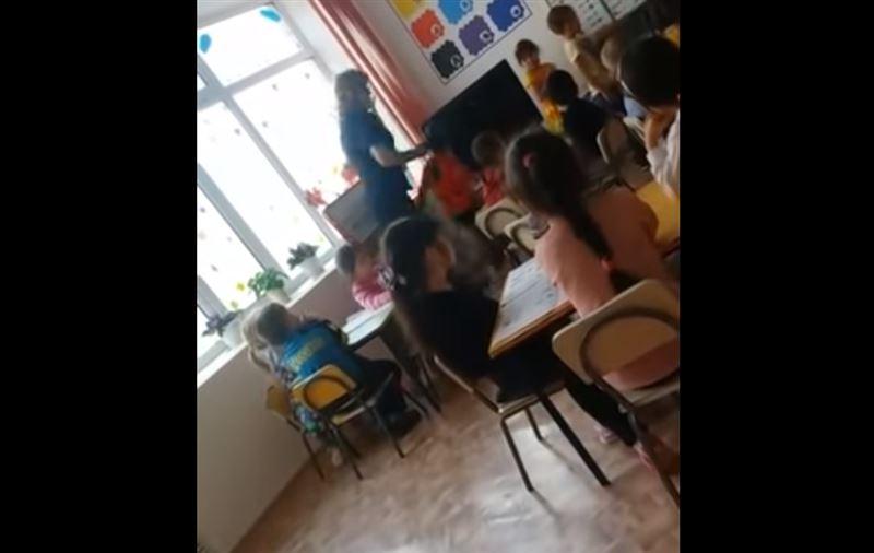Воспитательница, избивавшая детей в детском саду Актобе, попала на видео