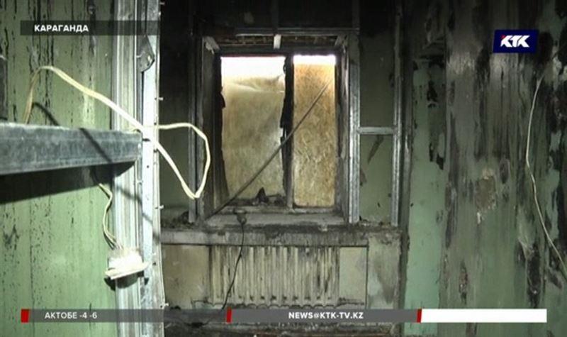 В карагандинской больнице вспыхнул пожар, пациентов эвакуировали на носилках