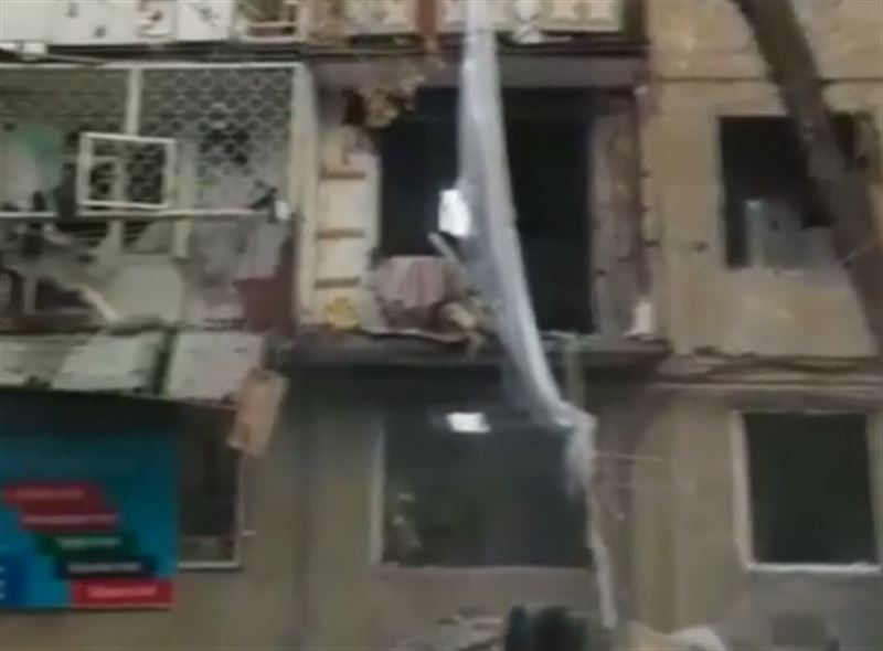 Взрыв газа произошел в жилом многоквартирном доме в Таразе