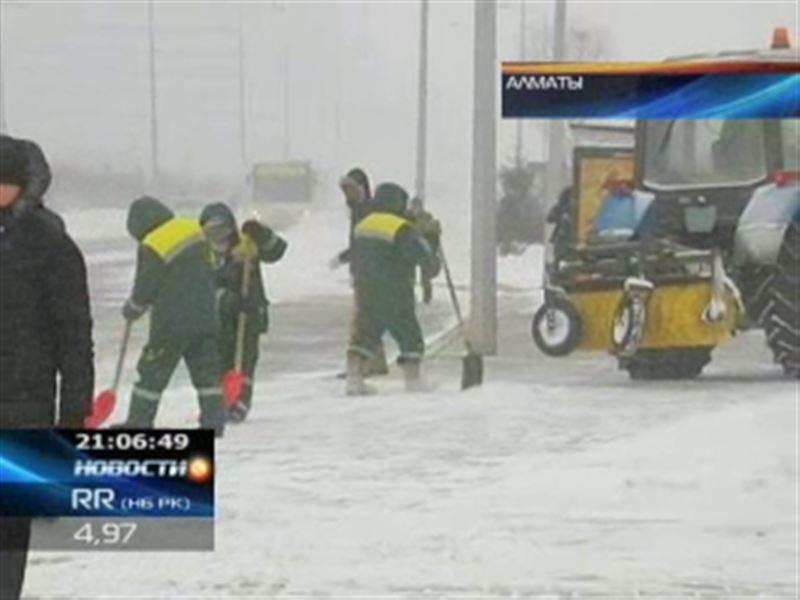 Последние недели зимы на территории Казахстана будет холодно