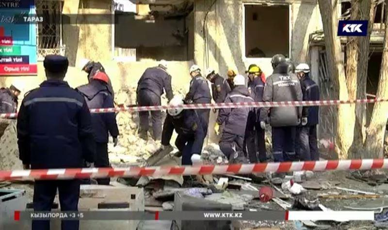 «Думали, что землетрясение»: таразцы рассказали подробности взрыва в многоэтажке