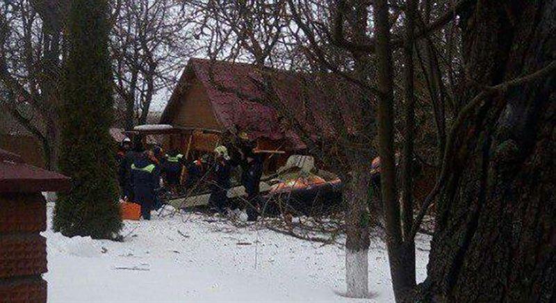 В Подмосковье потерпел крушение легкомоторный самолет