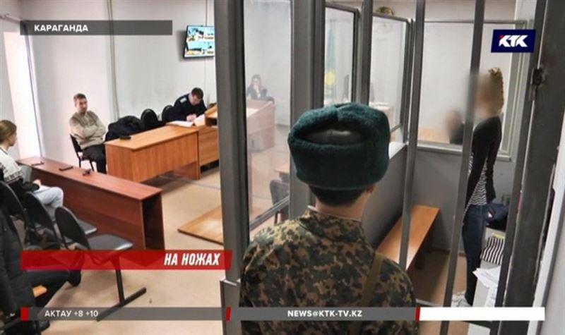 Жительницу Темиртау, которая нанесла сопернице 60 ножевых, начали судить
