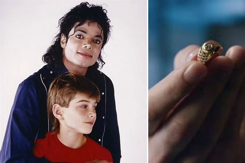 Майкл Джексон расплатился за секс с 10-летним любовником обручальным кольцом