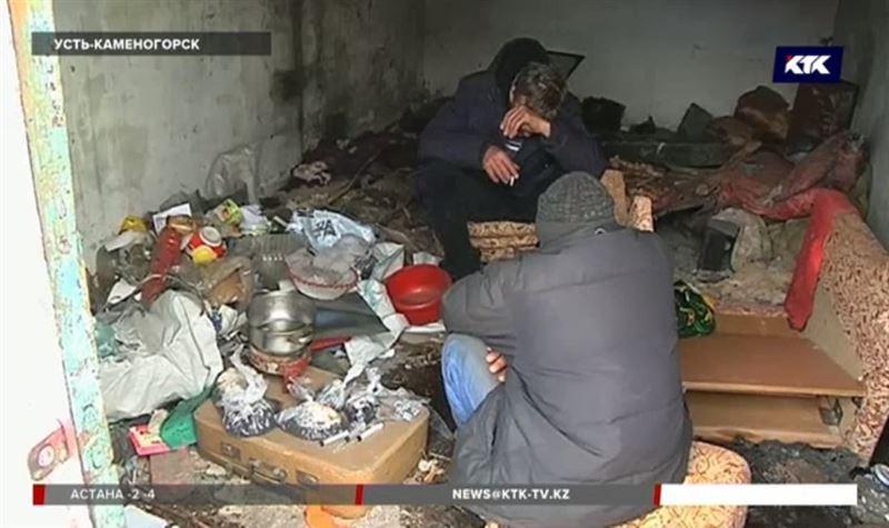 Места обитания наркоманов и алкоголиков обходит полиция Усть-Каменогорска