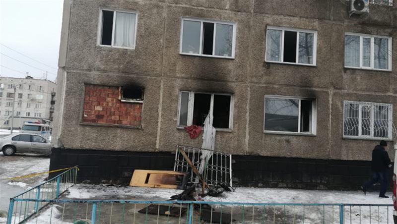В многоэтажном жилом доме в Павлодаре прогремел взрыв