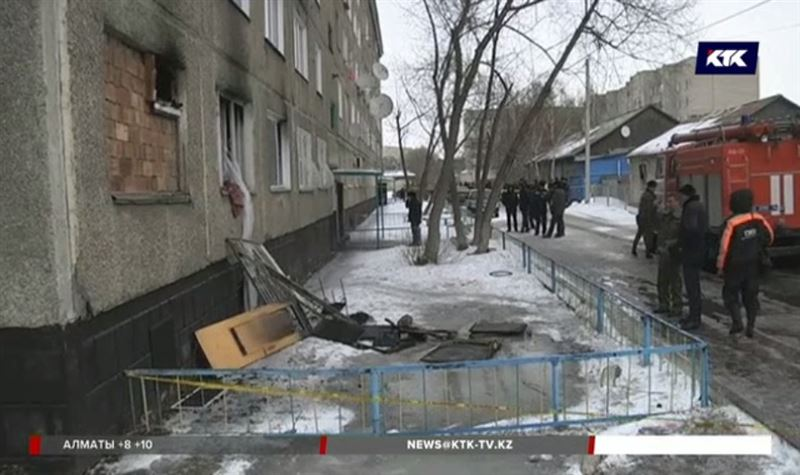 Выясняют причину взрыва в павлодарской многоэтажке