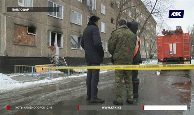 Алкоголики с порохом спровоцировали взрыв в павлодарской многоэтажке