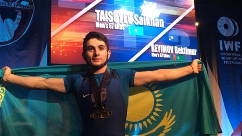 Казахстанец Сайхан Тусуев установил мировой рекорд на ЧМ в США