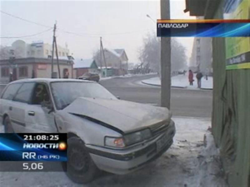В Павлодаре из-за ДТП едва не оставило без крова целую семью