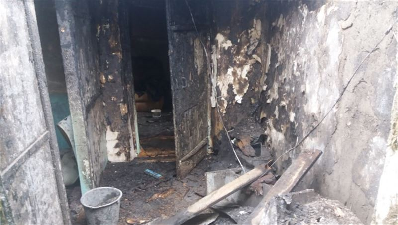 В СКО в результате пожара погиб мужчина