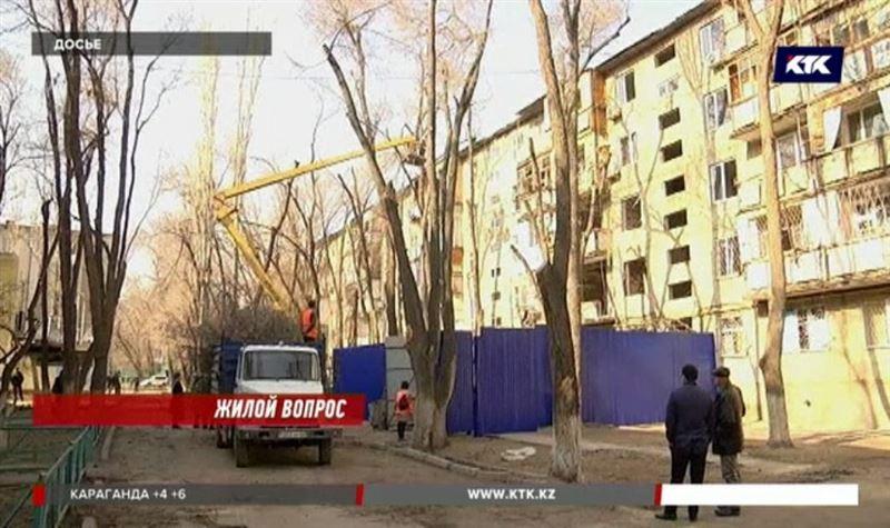 В таразском доме, где произошел взрыв, аварийными признали только два подъезда