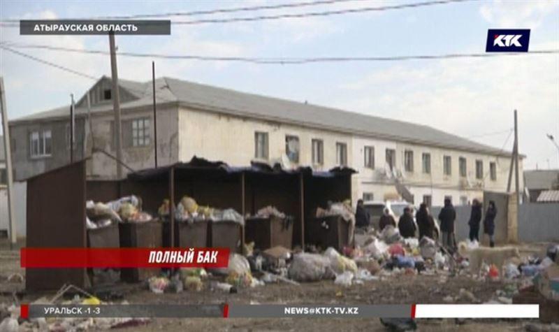 Атырауский поселок превратился в мусорный полигон