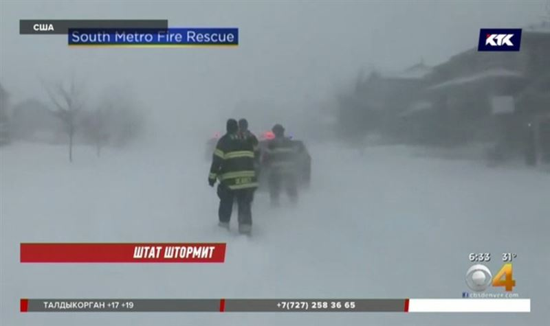 Колорадо тонет в снегу