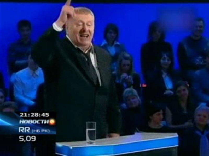 Жириновский устроил очередной скандал во время теледебатов
