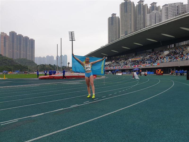 Полина Иванова жеңіл атлетикадан Азия чемпионатында алтын алды