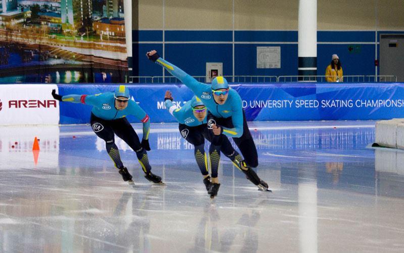 Дмитрий Морозов конькимен жүгіруден халықаралық турнирде бірінші орын алды