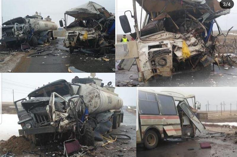Авария со смертельным исходом произошла в Актюбинской области