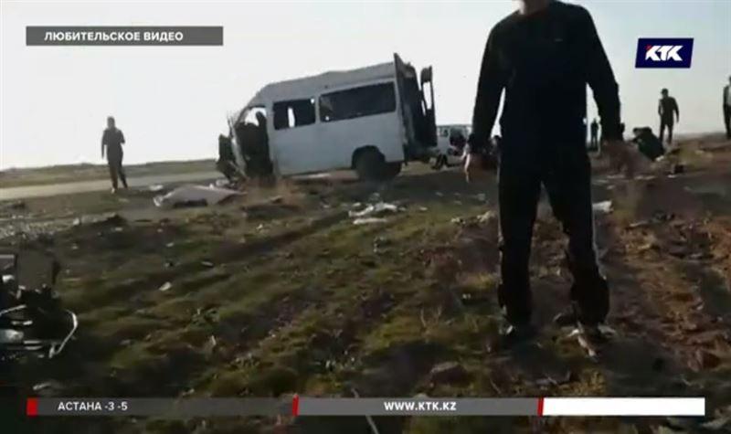 Авария с пассажирским микроавтобусом – двое погибли