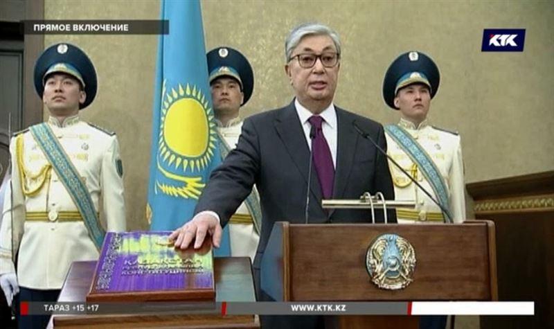 Церемония принесения присяги Касым-Жомартом Токаевым – как всё было