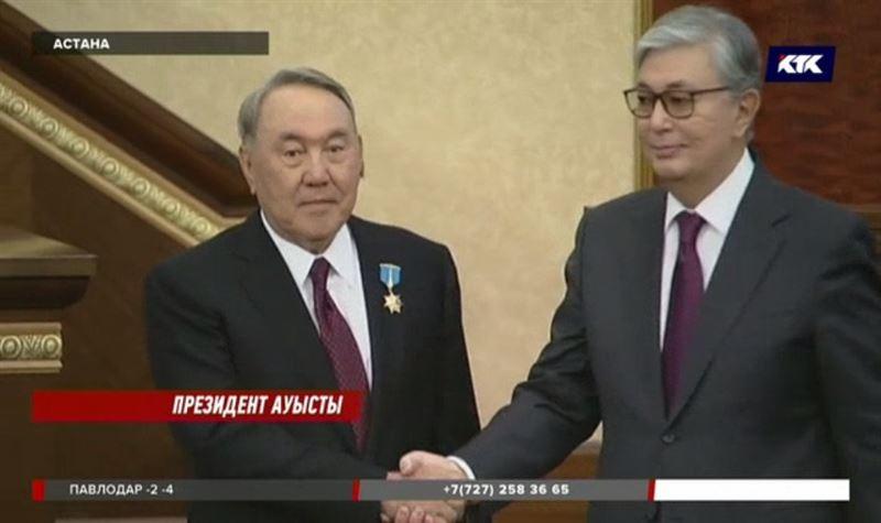 Тоқаев Назарбаевты ұстазым деп атады