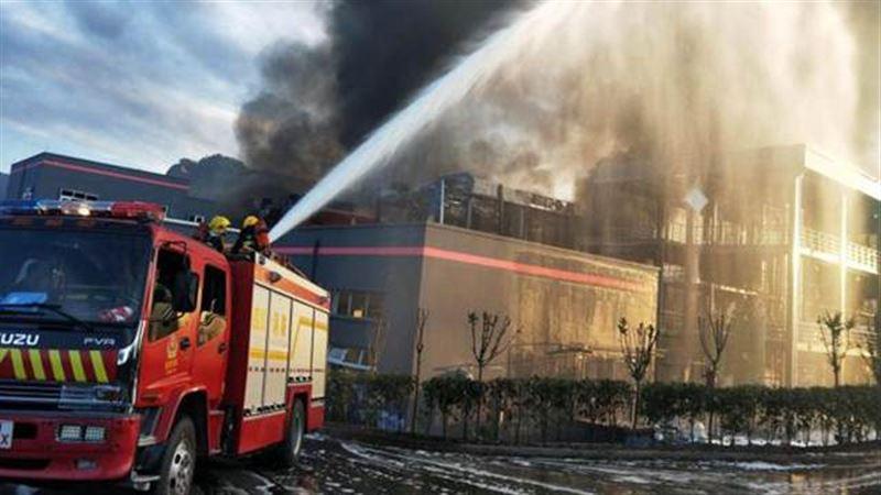 Взрыв произошел на химзаводе в Китае