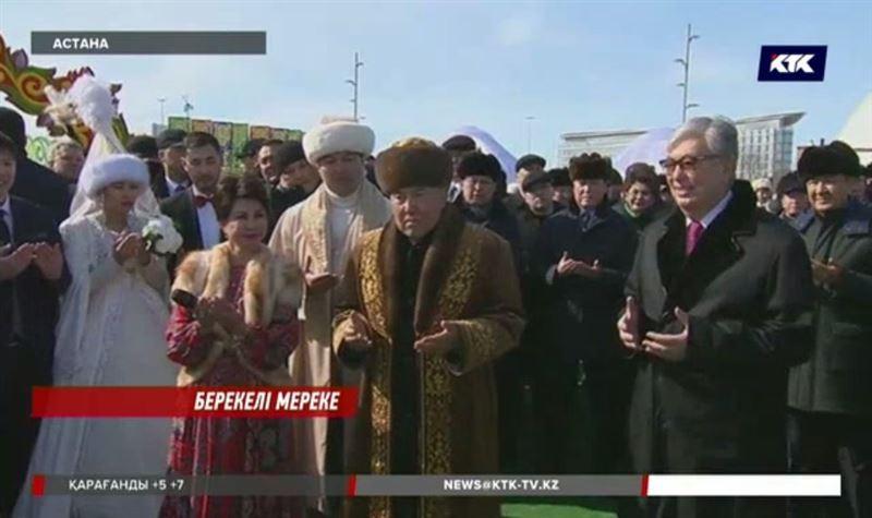 Назарбаев пен Тоқаевелді Наурыз мерекесімен құттықтады