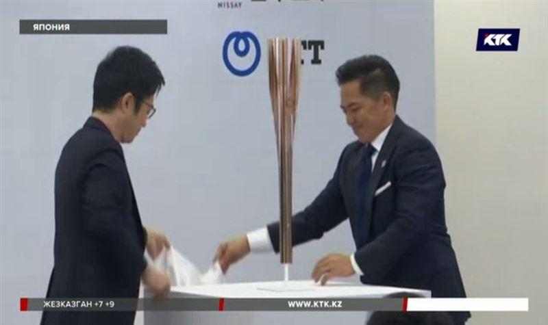 Необычный факел Олимпиады-2020 представили в Японии