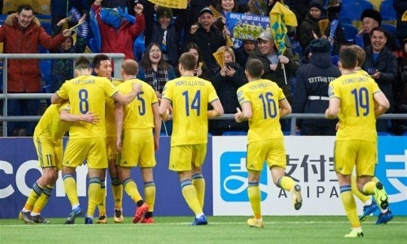 Сборная Казахстана обыграла Шотландию со счетом 3:0