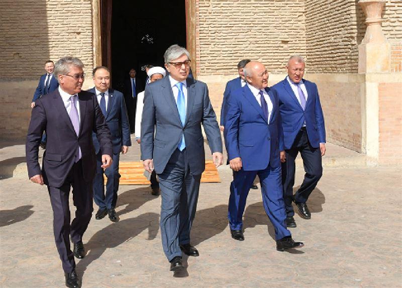 Президент Казахстана прибыл с рабочим визитом в Туркестанскую область