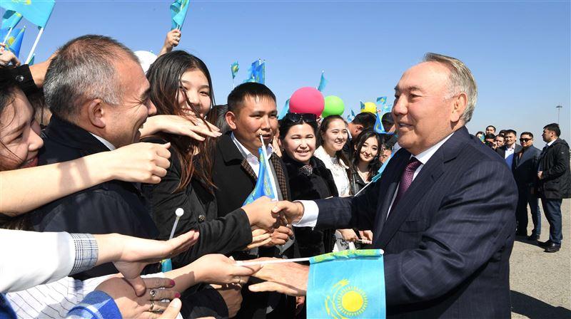 Первый Президент РК встретился с алматинскими студентами